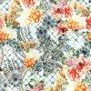 Tela de seda impressa Digitas de teste padrão de flor da tela do vestuário (XF-0068)