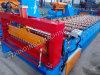 Feuille de toiture de fer ondulé faisant le roulis formant la machine