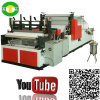 Surtidor de grabación en relieve de la máquina de la fabricación de papel de la toalla de cocina de la alta producción Niza