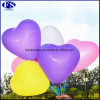 自然な乳液12インチ3.0gのハート形の気球