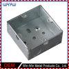 Powerbox Custom de acero inoxidable estampado de metal soldado impermeable al aire libre Caja de empalmes eléctricos