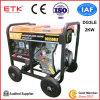 Желтый тепловозный генератор с деятельностью безопасности (5kVA)