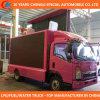 6 rotelle LED che fanno pubblicità al camion mobile della fase del camion LED
