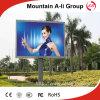 Publicidad P13.33 al aire libre a todo color de escaneo estático Pantalla LED
