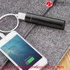 Carregador de bateria externo do telemóvel do mini cilindro do cabo do USB