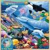 Hölzerne Spaß-Tatsachen der unterseeischen Freunde 48 Stück-Kind-Puzzlespiel