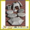 Linterna gris natural de la piedra del granito para el jardín exterior