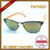 جديدة تصميم معدن نظّارات شمس مع عالة علامة تجاريّة في الصين [فم15523]