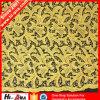 Rhinestoneの貿易Assurance Customized Logo Printed Lace Fabric