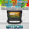 Witson S160 Car DVD GPS Player per Mitsubishi Outlander con lo Specchio-Link di Rk3188 Quad Core HD 1024X600 Screen 16GB Flash 1080P WiFi 3G Front DVR DVB-T (W2-M05)