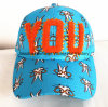 Kundenspezifische Freizeit-Baumwollhysteresen-Schutzkappen-Hüte der Stickerei-3D
