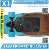 Электрической покатый скейтборд конька форсированный доской