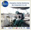 Macchinario edile che rinforza il macchinario d'acciaio del filetto della sbucciatura della nervatura del tondo per cemento armato della giuntura meccanica