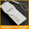 Étiquette de papier dure de papier fait sur commande de vêtement pour la robe (BLF-T082)