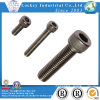 Aço inoxidável Hex Socket Head Screw