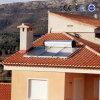 Aquecedor solar de água quente com placa plana passiva