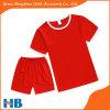 赤い子供のスポーツのスーツの新しい到着の衣服