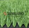 Alta calidad que enclavija el césped artificial de los deportes de la mirada natural china de la decoración