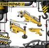 Первоначально ATM-Серии Enerpac, инструменты выравнивания фланца