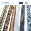 Fabrik-Zubehör-Firmenzeichen und Farbe kundenspezifisches Jacquardwebstuhl-gewebtes Material