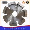 as rachaduras do concreto de 105mm que reparam a circular do diamante viram a lâmina