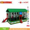子供の屋根、スライドおよび安全策が付いている屋内屋外のトランポリンのベッド