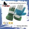 Gants de travail de paume de cuir de sécurité du travail de pente d'ab