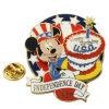 Pin отворотом сувенира Дня независимости США высокого качества изготовленный на заказ