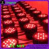 Waterdichte LEIDEN RGBW van het Stadium 54*3W van DJ IP65 PARI 64 Licht