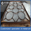 Het moderne Roestvrij staal dat van het Ontwerp de Decoratieve Verdeler van Roon van het Scherm van de Verdeling vouwt