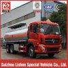 245HP 20000-25000 litros de caminhão de petroleiro refinado Dongfeng diesel do combustível do motor 6X4