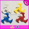 Jouet de fileur de main de PVC EDC de jouet de personne remuante de Tri-Fileur pour le jouet anti-stress W01b064 de long roulement de temps de rotation