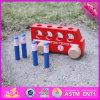 2016 brinquedos de madeira do carro do bebê por atacado mini, brinquedos de madeira do carro dos miúdos baratos mini, carro de madeira das crianças engraçadas mini brincam W04A260