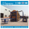 Voll automatischer Kleber-Block-Maschinen-Höhlung-Block-Hersteller des Hydraulikdruck-Qt10-15