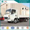 4X2 6 Wheeler Mini Van Cargo Lichte Vrachtwagen HOWO met de Motor van Cummins