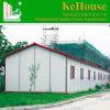 Het goedkope PrefabdieHuis van de Structuur van het Staal in Foshan China wordt gemaakt