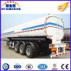 3 판매를 위한 반 차축 42000L 탄소 강철 연료유 탱크 트레일러