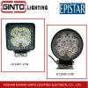 27W luz LED de trabajo de ingeniería de maquinaria agrícola del vehículo