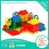 Do brinquedo educacional ajustado plástico do edifício de tijolo das crianças brinquedo Desktop do plástico do brinquedo
