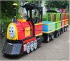 遊園地のためのトマスの電車の子供の乗車