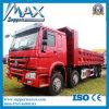Grande puissance 380HP HOWO Sinotruck 8*4 pour la vente de camion à benne