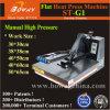 St-G1 Manuel plat haute pression T-Shirt Appuyez sur la touche de chaleur thermique Imprimante à transfert à chaud