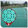 De de dubbele Bevloering van het Hof van het Badminton van de Laag Synthetische Binnen en Openlucht/Mat van de Vloer van het Badminton