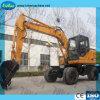 Venta caliente 12500kg del modelo de excavadora sobre orugas Hblk135
