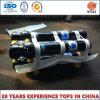 Cilindro telescópico hidráulico frontal para empilhamento, caminhão basculante