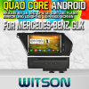 Witson S160 Car DVD GPS Player para Mercedes-Benz Glk (2008-2010) com Rk3188 Quad Core HD 1024X600 Tela 16GB Flash 1080P WiFi 3G frente DVR DVB-T (W2-M266)