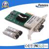 Vierling 4 van PCI Express X4 SFP Gigabit van de Haven LAN van de Adapter van het Netwerk van de Server van de Vezel Optische Kaart (Gebaseerd Intel I350)