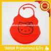 カスタム卸売価格の柔らかい防水シリコーンの赤ん坊の胸当て
