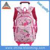طالب جميلة تقدّم مدرسة حمولة ظهريّة عجلة [بووك بغ] حامل متحرّك حقيبة