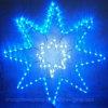 Motiv Light&#160 des Weihnachtsdekoration-schönes 3D Dekor-LED; Eight Pointed Sterne